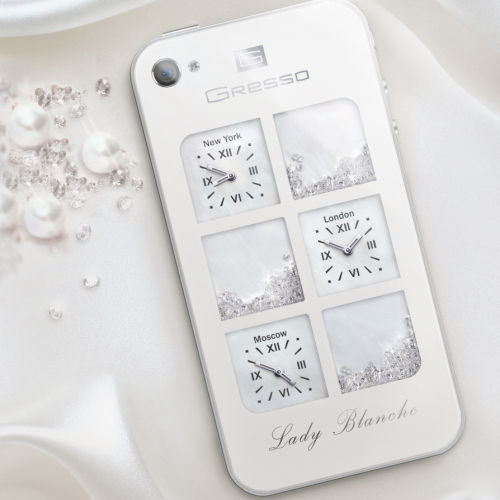 Gresso Lady Blanche iPhone 4