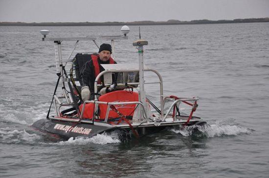 圣安德鲁斯大学地球科学系的理查德-贝茨博士,参与了多格兰的科学考察