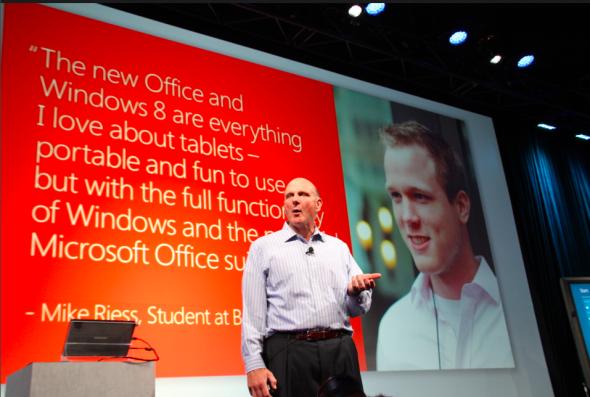 Windows和Office是鲍尔默扭转移动战局的两张王牌