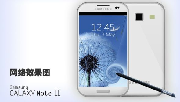 Galaxy Note II假想图
