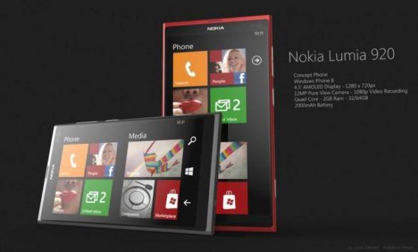 诺基亚新旗舰Lumia 920