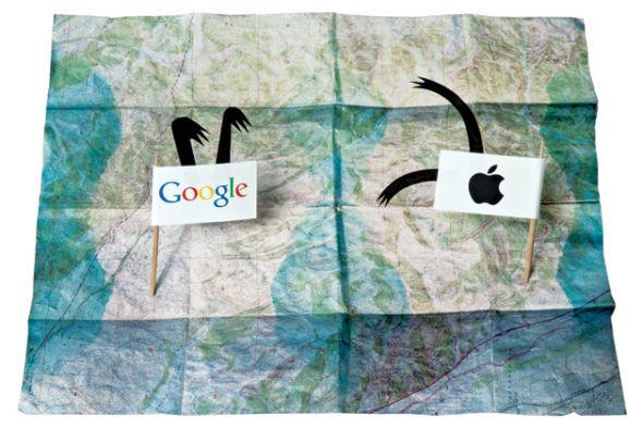 在推出自家地图服务之后,苹果正式结束了与谷歌长达数年的合作关系。