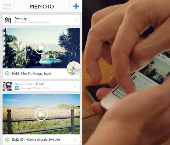随时记录影像的微型自动相机Memoto登场