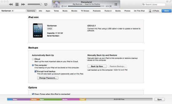 鉴于用户iOS设备上的iTunes11。