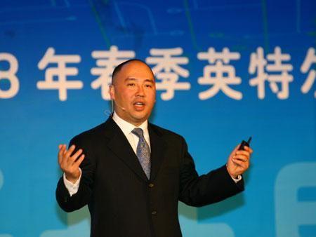 英特尔公司全球副总裁、中国区总裁杨叙(新浪科技配图)