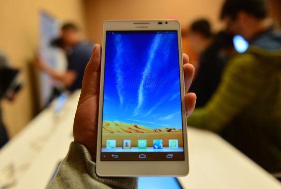 华为推布6寸屏手机Ascend Mate