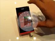 华为首款Windows Phone 8手机W1试玩