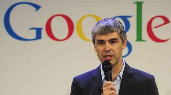 谷歌CEO拉里・佩奇