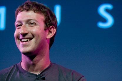 Facebook创始人兼CEO马克·扎克伯格(Mark Zuckerberg)