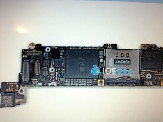 iphone 5s主板曝光 或采用四核处理器