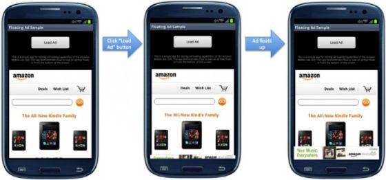 亚马逊移动广告API演示