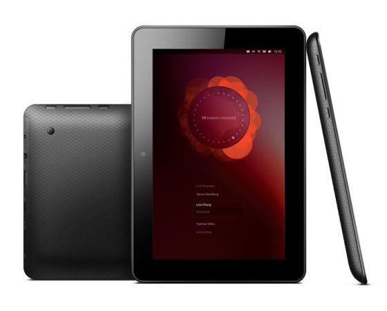 Ubuntu平板电脑设计图