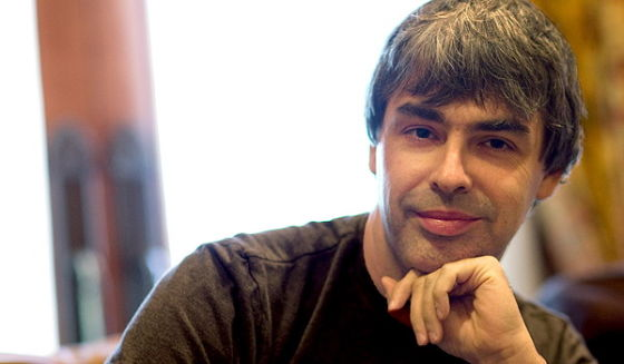 谷歌CEO拉里・佩奇(Larry Page)