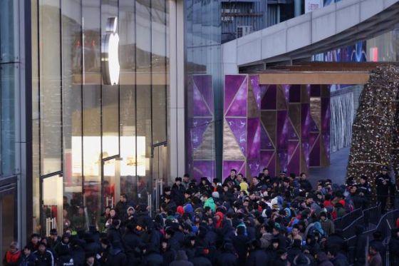 苹果在中国依然拥有大量拥趸