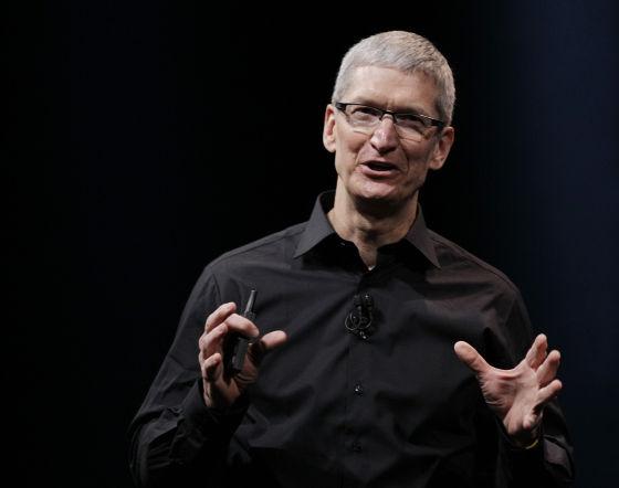 苹果CEO蒂姆・库克