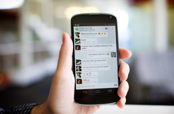 谷歌新推出的即时通讯服务Hangouts很快将支持收发短信和拨打电话功能。