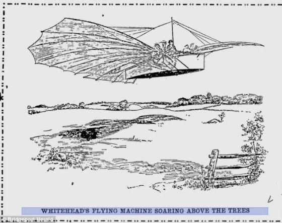 据说,怀特希德在这一年驾驶他设计制造的飞行汽车飞行了1.5英里(约合2.4公里),高度达到50英尺(约合15米)。