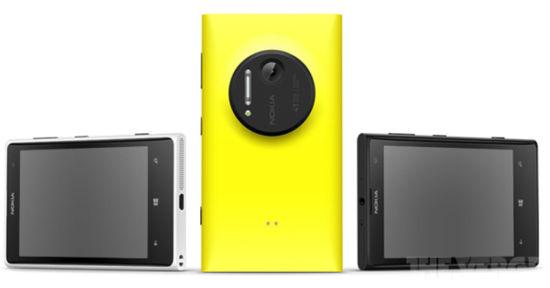 诺基亚发布Lumia 1020:4100万像素主摄像头