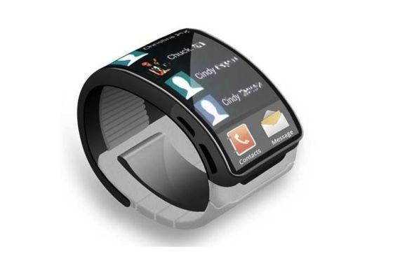 Galaxy Gear智能手表概念图