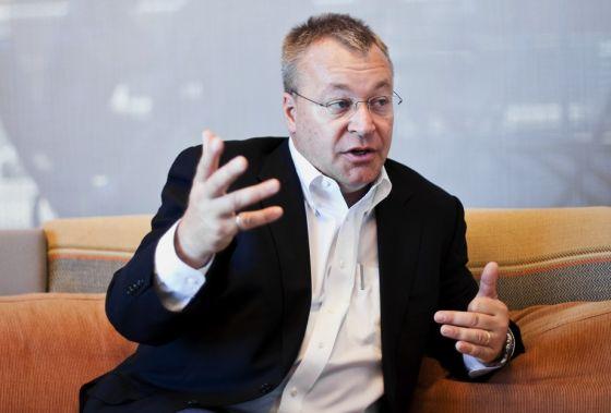 诺基亚CEO史蒂芬・埃洛普
