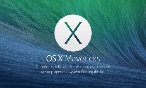 苹果发布OS X Mavericks GM版