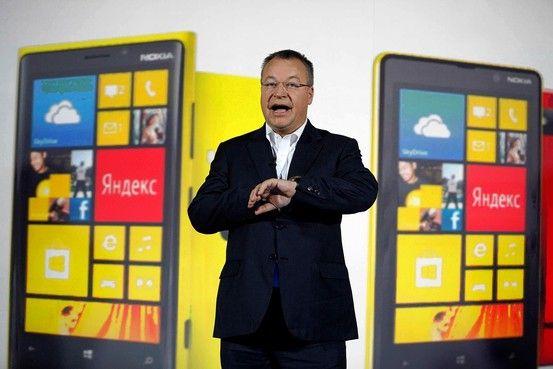 前诺基亚CEO史蒂芬・埃洛普(Stephen Elop)