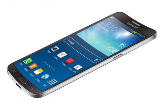 三星曲面屏幕手机Galaxy Round
