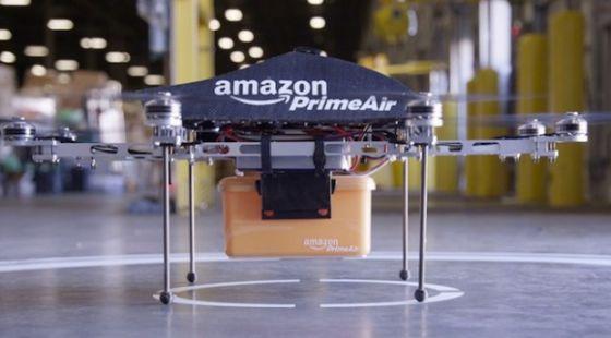 亚马逊无人机可以在30分钟内送货上门