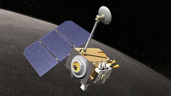 艺术示意图:LRO探测器