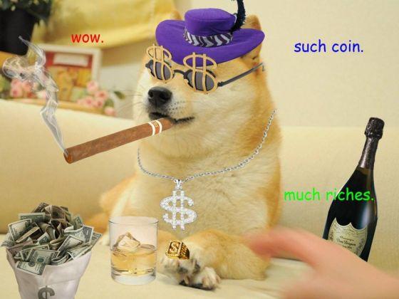 """Doge meme""已成为2013年美国互联网的一个文化符号"