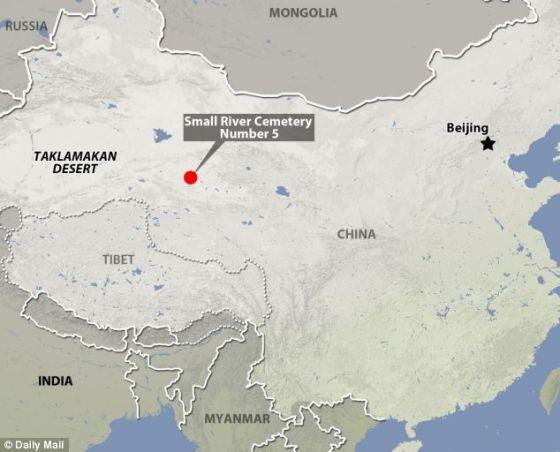 20世紀30年代,一位瑞典考古學家在西藏北部的塔克拉瑪干沙漠裏發現200具干屍。這個地方是衆所周知的小河墓地5號
