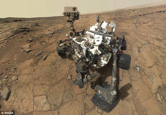 """""""好奇""""号从2012年8月开始在火星上运行,目前它正在进入这项任务的一个关键性科研阶段"""