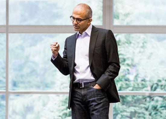 微软CEO萨蒂亚・纳德拉