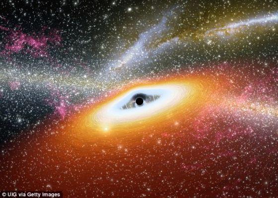 反面:白洞是黑洞的反面。黑洞会吞噬物质,而白洞会向外吐出物质