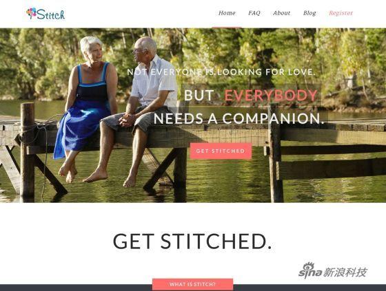 专为老年人服务的社交网站Stitch