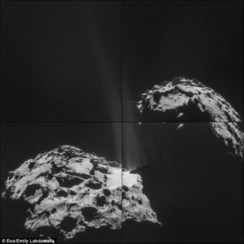 天文学家揭秘彗星气味:臭鸡蛋和马尿(组图)