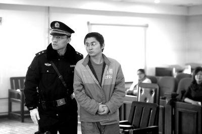 沈曦受审。京华时报记者蒲东峰摄