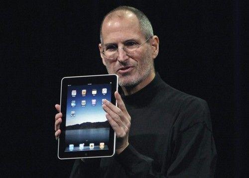 乔布斯发布iPad一代