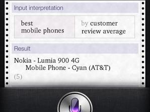 Lumia 900语音助手:iPhone比我更值得购买