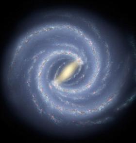银河系盘1.6万光年首次发现恒星