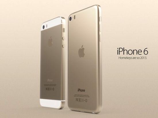 """热心网友自己制作的""""iPhone 6""""效果图"""