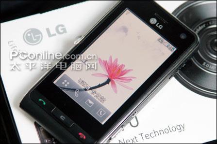500万像素LG最强拍摄手机KU990到货