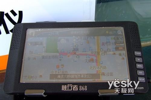 脸大指路也有方向感七寸宽屏GPS全推荐