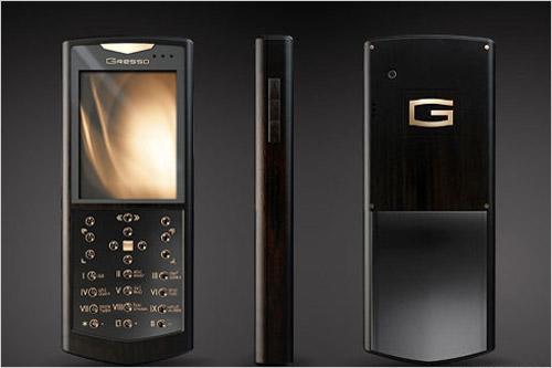 售价三十万Gresso推两款高端奢华手机