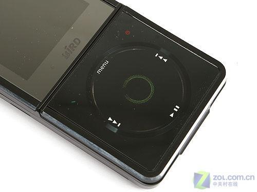 炫酷黑色外观波导学生音乐手机F520评测(2)