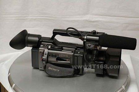 经典小型专业DV索尼190P带票售21400元