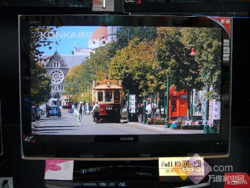 聚焦新春市场十大最热销42寸液晶电视(6)