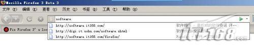 调整Firefox3网址自动完成的显示