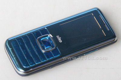 蓝色炫镜波导低端直板机D615卖1000