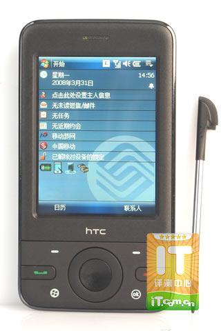 时尚灵巧HTC智能导航手机P3470评测